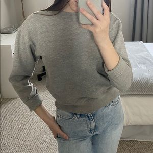 Urban Outfitters Gray Crewneck